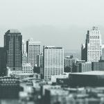 Connect2 LinkedIn achtergrond stad