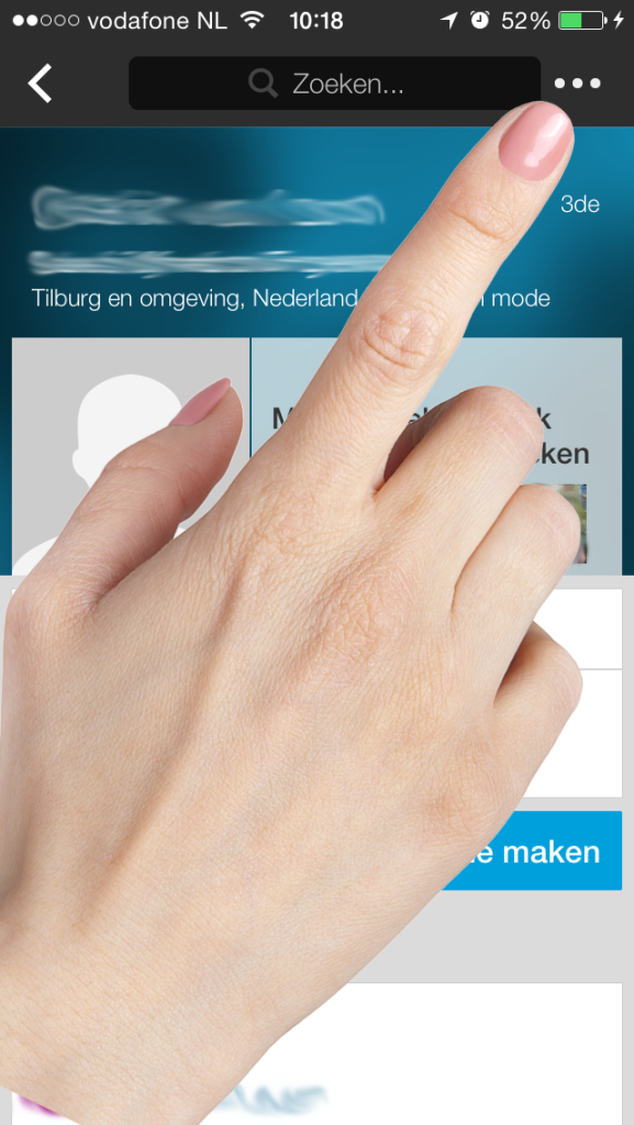 Connect2 LinkedIn uitnodiging smartphone 4