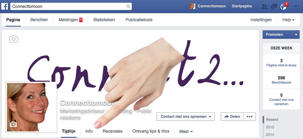 Connect2 vind je Facebook-pagina-id