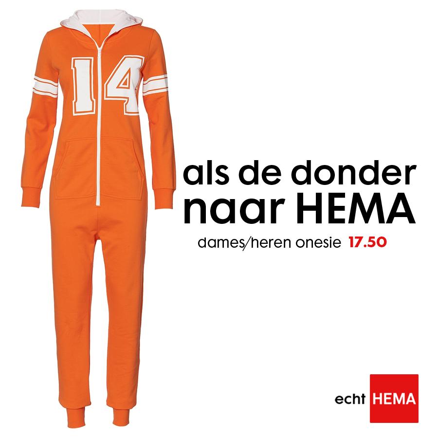 Donder-Hema-Oranje-Onesie